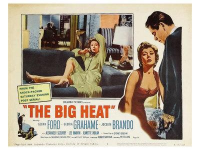 The Big Heat, 1953 Poster