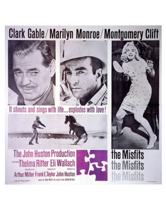 The Misfits, 1961 Poster