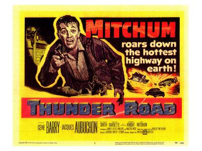 Thunder Road, 1958 Prints
