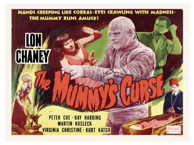 The Mummy's Curse, 1944 Posters