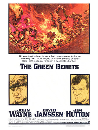 Green Berets, 1968 Posters