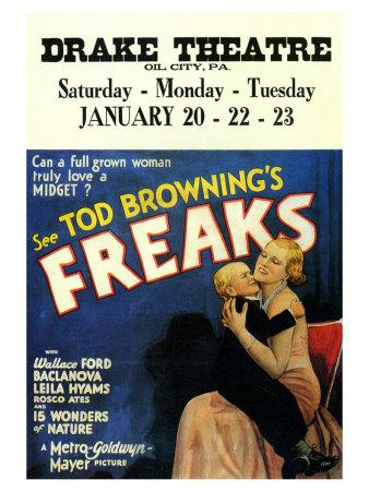 Freaks, 1932 Prints