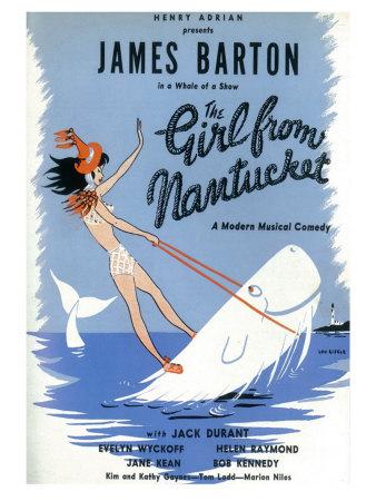 The Girl From Nantucket Art