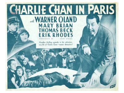 Charlie Chan in Paris, 1935 Prints