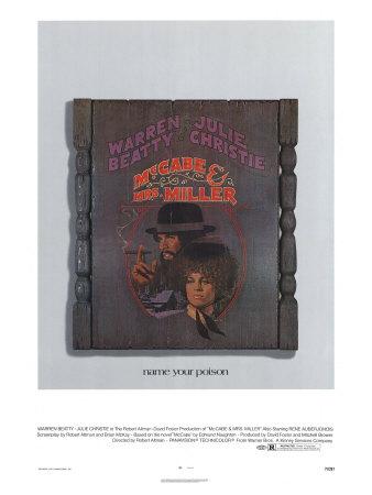 McCabe and Mrs. Miller, 1971 Premium Giclee Print