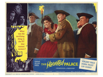 The Haunted Palace, 1963 Print