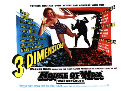 House of Wax, UK Movie Poster, 1953 Posters