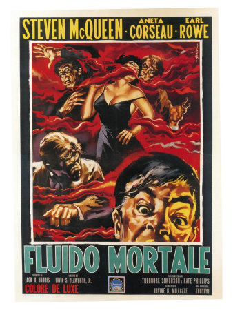 The Blob, Italian Movie Poster, 1958 Posters