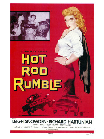 Hot Rod Rumble, 1957 Posters