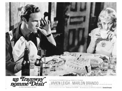 A Streetcar Named Desire, French Movie Poster, 1951 Poster