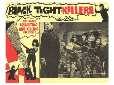 Black Tight Killers, 1968 Art