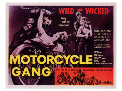 Motorcycle Gang, 1957 Prints