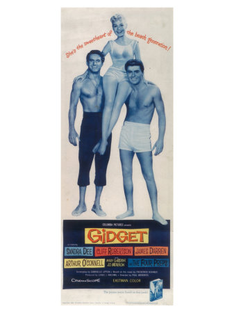Gidget, 1959 Poster