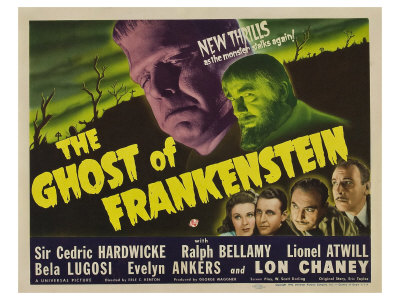 The Ghost of Frankenstein, 1942 Prints
