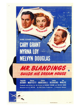 Mr. Blandings Builds His Dream House, 1948 Prints