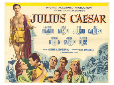 Julius Caesar, 1953 Gicle-tryk