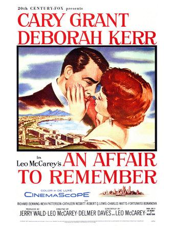 An Affair to Remember, 1957 Print