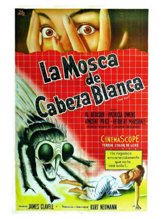The Fly, Argentine Movie Poster, 1958 Prints