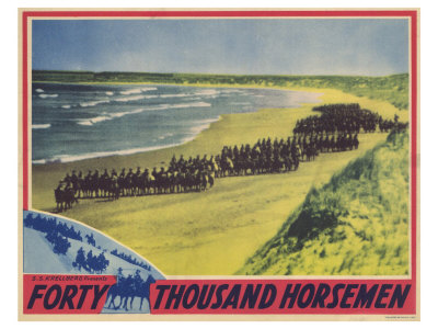 Forty Thousand Horsemen, 1941 Posters