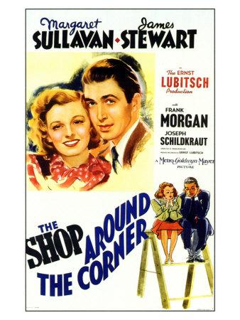 The Shop Around the Corner, 1940 Poster