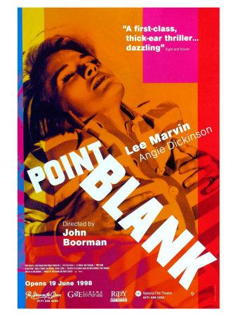 Point Blank, UK Movie Poster, 1967 Print