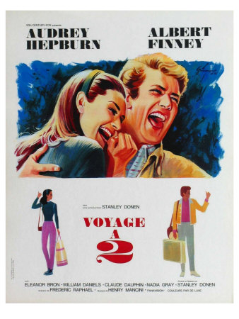 Two for the Road, French Movie Poster, 1967 Prints