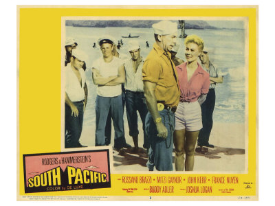 South Pacific, 1959 Poster