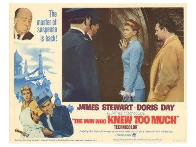 The Man Who Knew Too Much, 1956 Lmina gicle