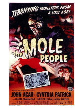 The Mole People, 1956 Art
