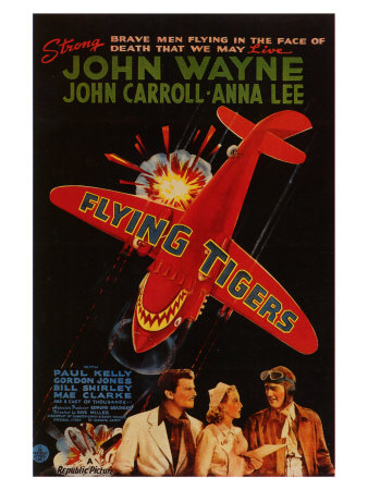 Flying Tigers, 1942 Posters