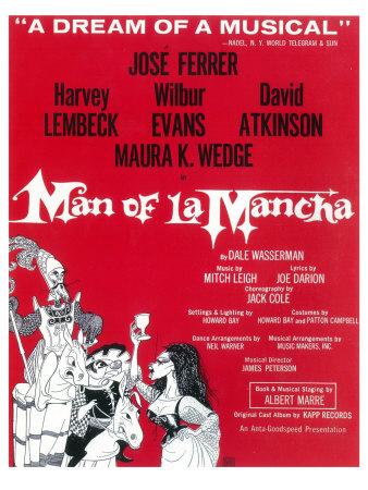 Man Of La Mancha Posters