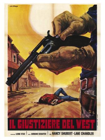 Sagebrush Trail, Italian Movie Poster, 1940 Prints
