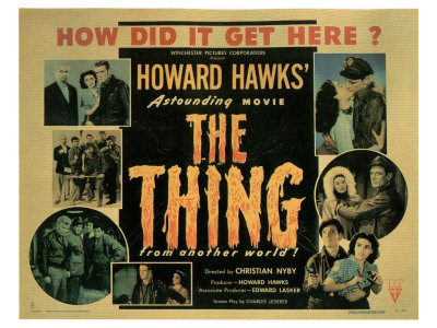 The Thing from Another World, 1951 Posters