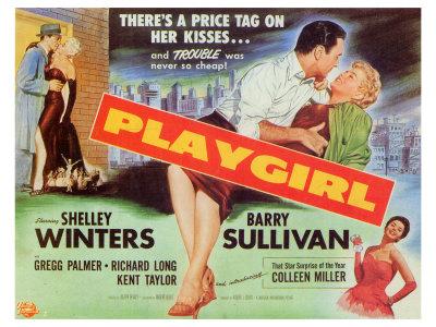 Playgirl, 1954 Print
