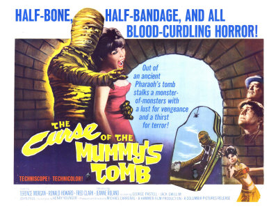 The Curse of the Mummy's Tomb, 1964 Art