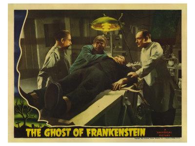 The Ghost of Frankenstein, 1942 Art