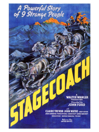 Stagecoach, 1939 Prints