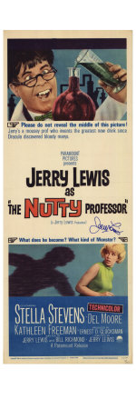 The Nutty Professor, 1963 Prints