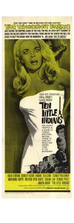 Ten Little Indians, 1966 Print