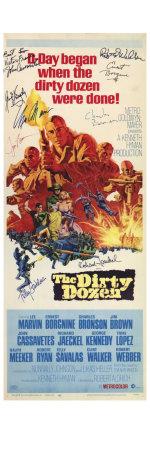 The Dirty Dozen, 1967 Plakat