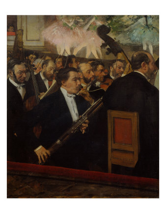 L'orchestre de l'Opera (The Orchestra of the Opera), c. 1870 Giclee Print by Edgar Degas