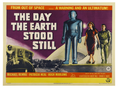The Day The Earth Stood Still, UK Movie Poster, 1951 Prints