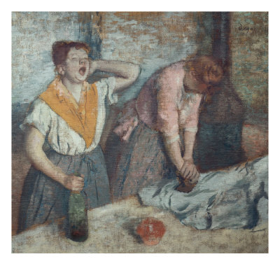 Les Repasseuses (Two Laundresses) Giclee Print by Edgar Degas