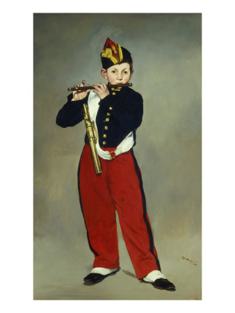 Le Fifre (The Fifer), 1866 Giclee Print by Édouard Manet