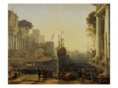 Ulysses and Chryseis Giclee Print by Claude Lorrain