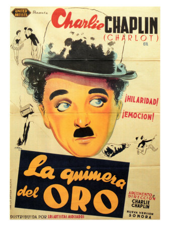 The Gold Rush, Spanish Movie Poster, 1925 Prints