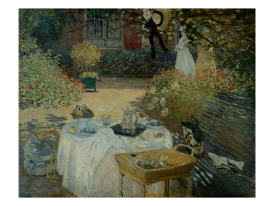 Le Dejeuner (The Luncheon) reproduction procédé giclée