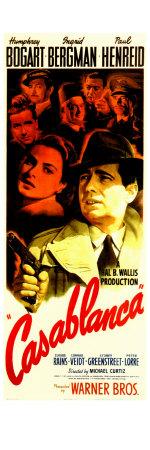 Casablanca, 1942 Poster