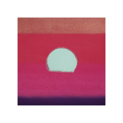 Sunset, c.1972 (hot pink, purple, red, blue) Giclee Print by Andy Warhol