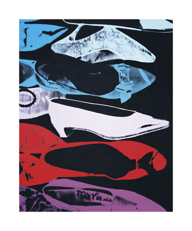 Diamond Dust Shoes, c.1980-81 (Parallel) Stampa giclée di Andy Warhol